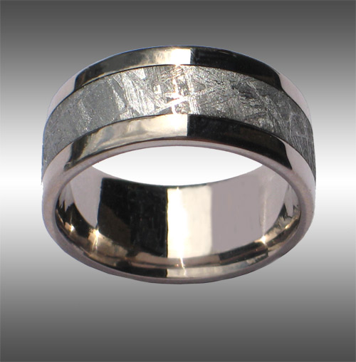 Seamless Meteorite Ring